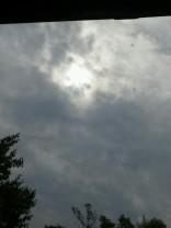 日食!?(笑)